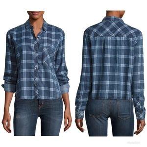 Rails Dana Midnight Grid Shirt